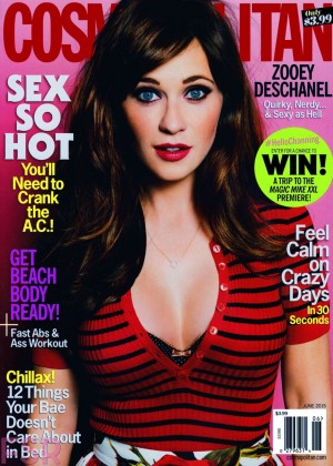 Zooey Deschanel - Cosmopolitan US Magazine (June 2015)