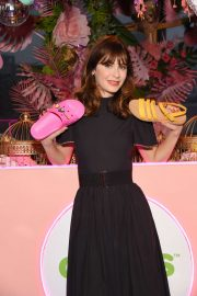 Zooey Deschanel - Exclusive Preview of Crocs SS 2020 Collection in New York