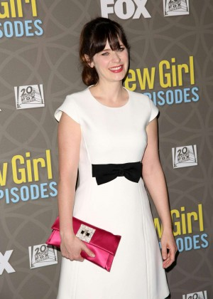 Zooey Deschanel - 'New Girl' 100th Episode Party in Beverly Hills