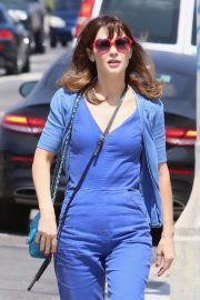 Zooey Deschanel - Out in Hollywood