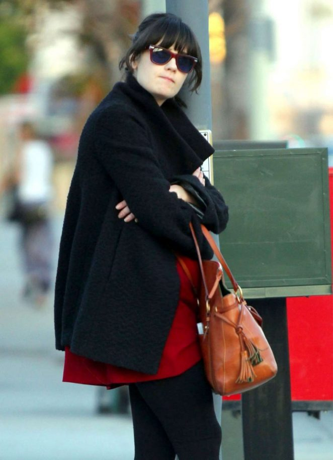 Zooey Deschanel out in LA