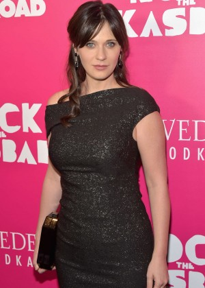 Zooey Deschanel - 'Rock The Kasbah' Premiere in New York