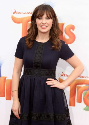 Zooey Deschanel - 'Trolls' Premiere in Los Angeles