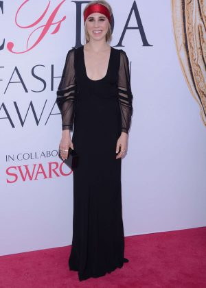 Zosia Mamet - 2016 CFDA Fashion Awards in New York