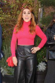 Zosia Mamet - Arrives at The Tribeca Chanel Women's Filmmaker Program Luncheon in NY