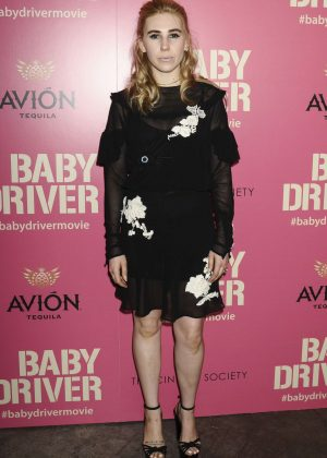 Zosia Mamet - 'Baby Driver' Premiere in New York