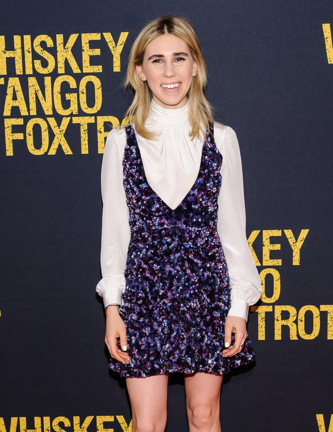 Zosia Mamet - 'Whiskey Tango Foxtrot' Premiere in New Yo