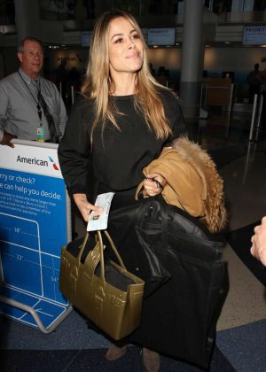 Zulay Henao at Los Angeles International Airport