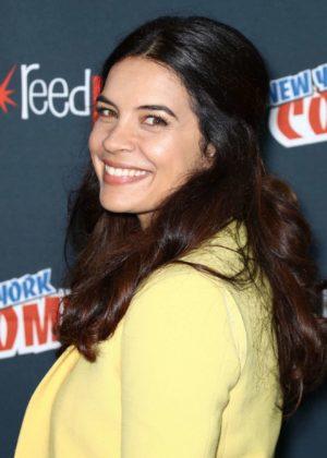 Zuleikha Robinson - 'The Exorcist' Panel at 2017 New York Comic Con