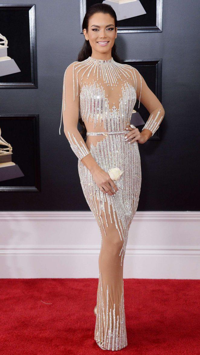 Zuleyka Rivera 2018 Grammy Awards In New York City
