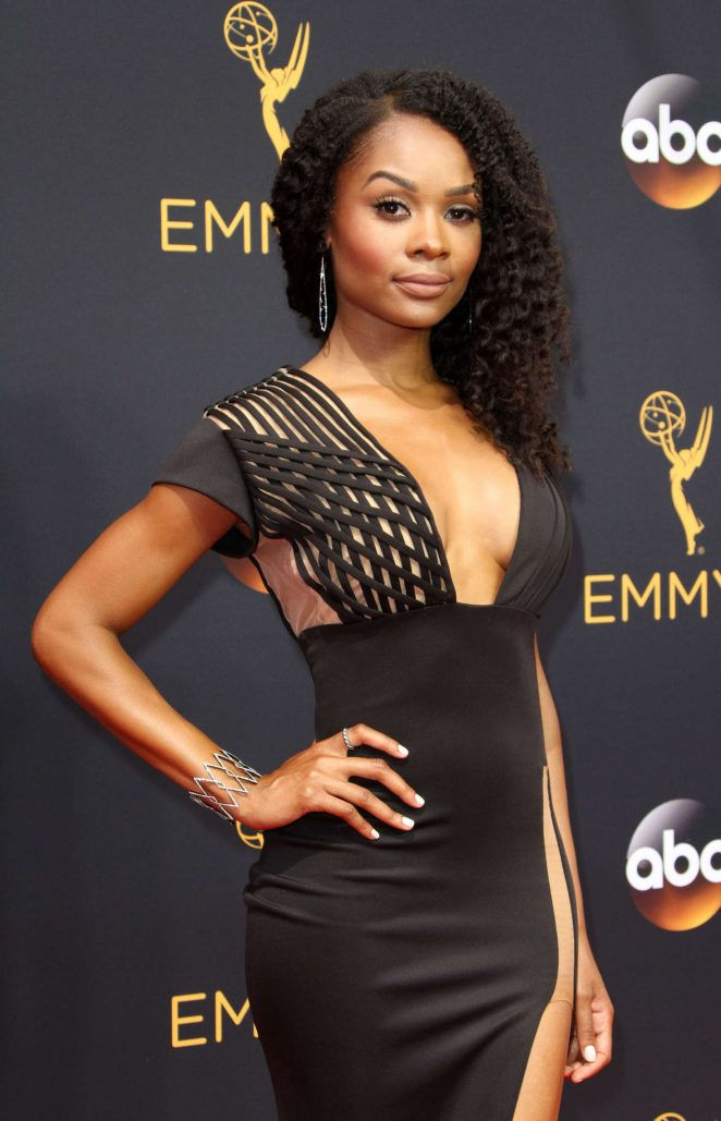 Zuri Hall - 2016 Emmy Awards in Los Angeles