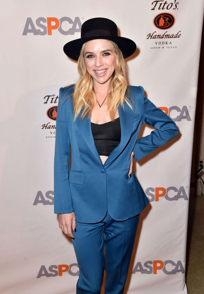 ZZ Ward - The ASPCA 20th Annual Bergh Ball in New York City