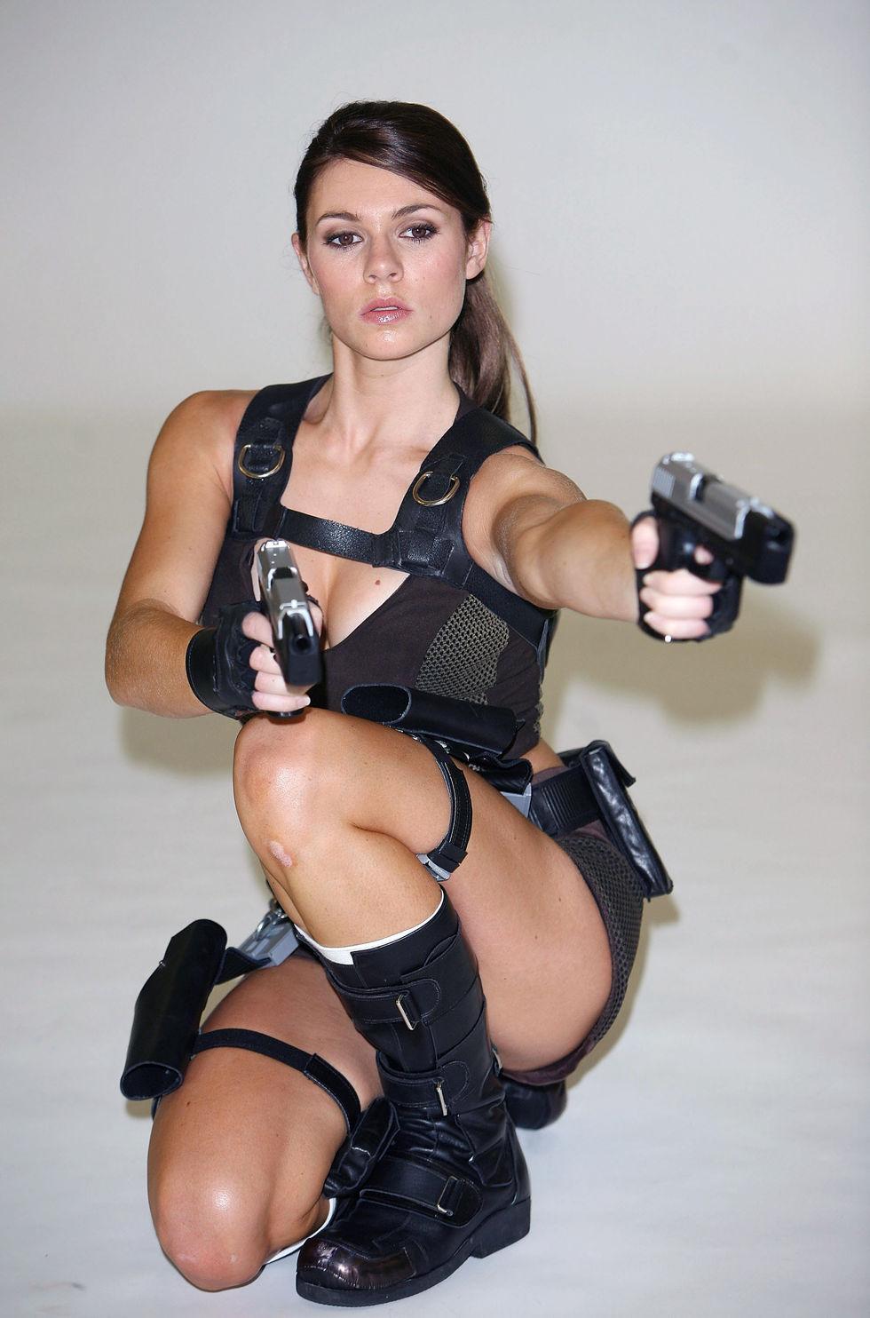 Lara croft nu fake nackt clips