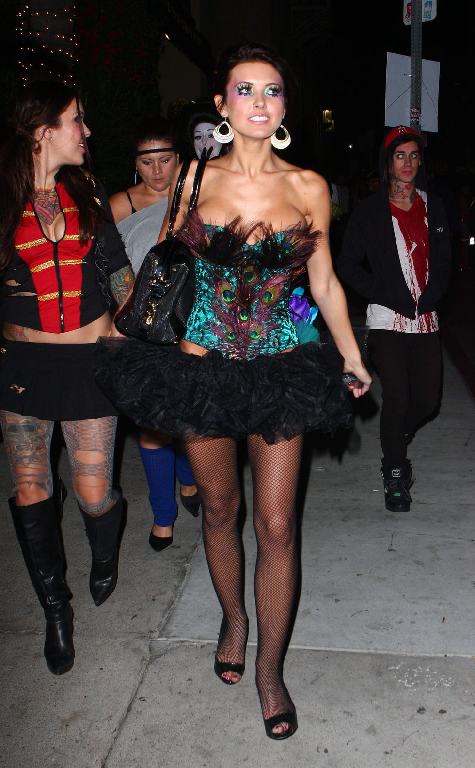 audrina patridge halloween 2008 party in hollywood 01 - Halloween Parties In Hollywood