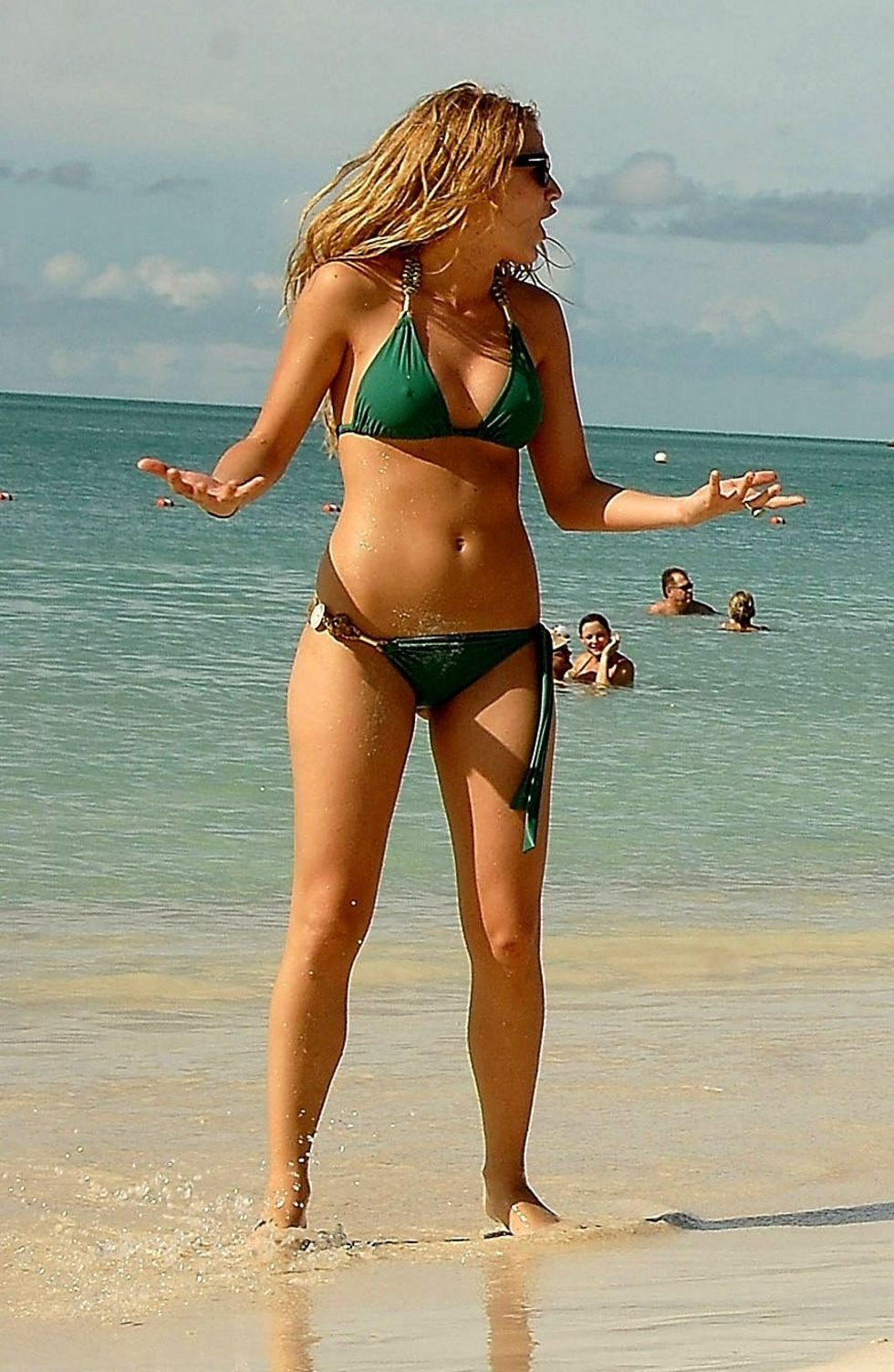 blake lively and maria menounos bikini candids at grande antigua 02 Free Porn Tags: 'Sex Slave