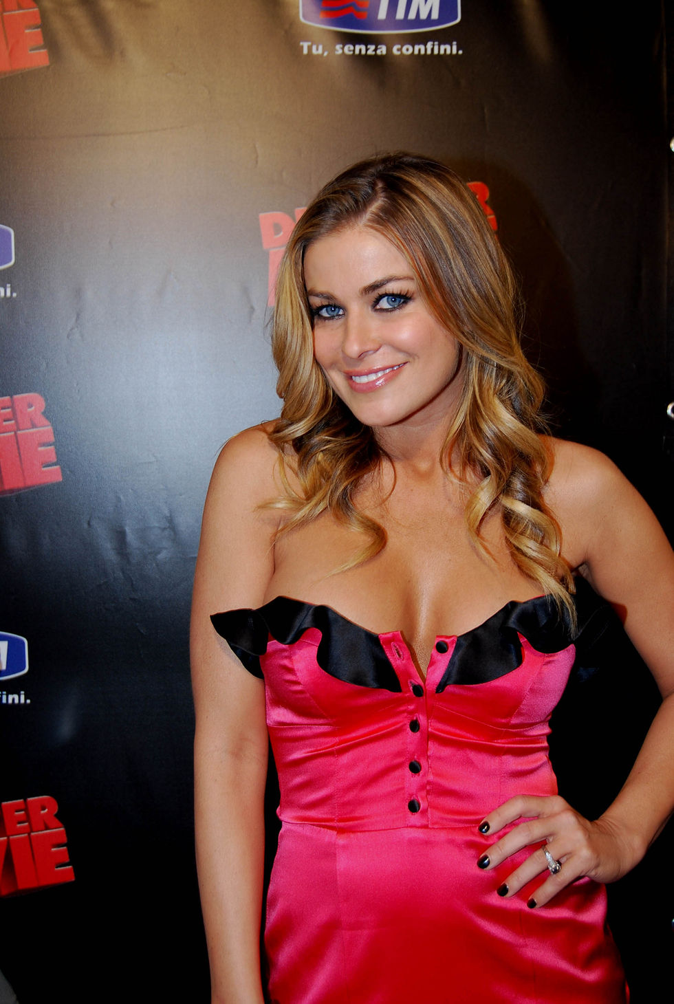 Carmen Electra in The Disaster Movie Premiere in Rome
