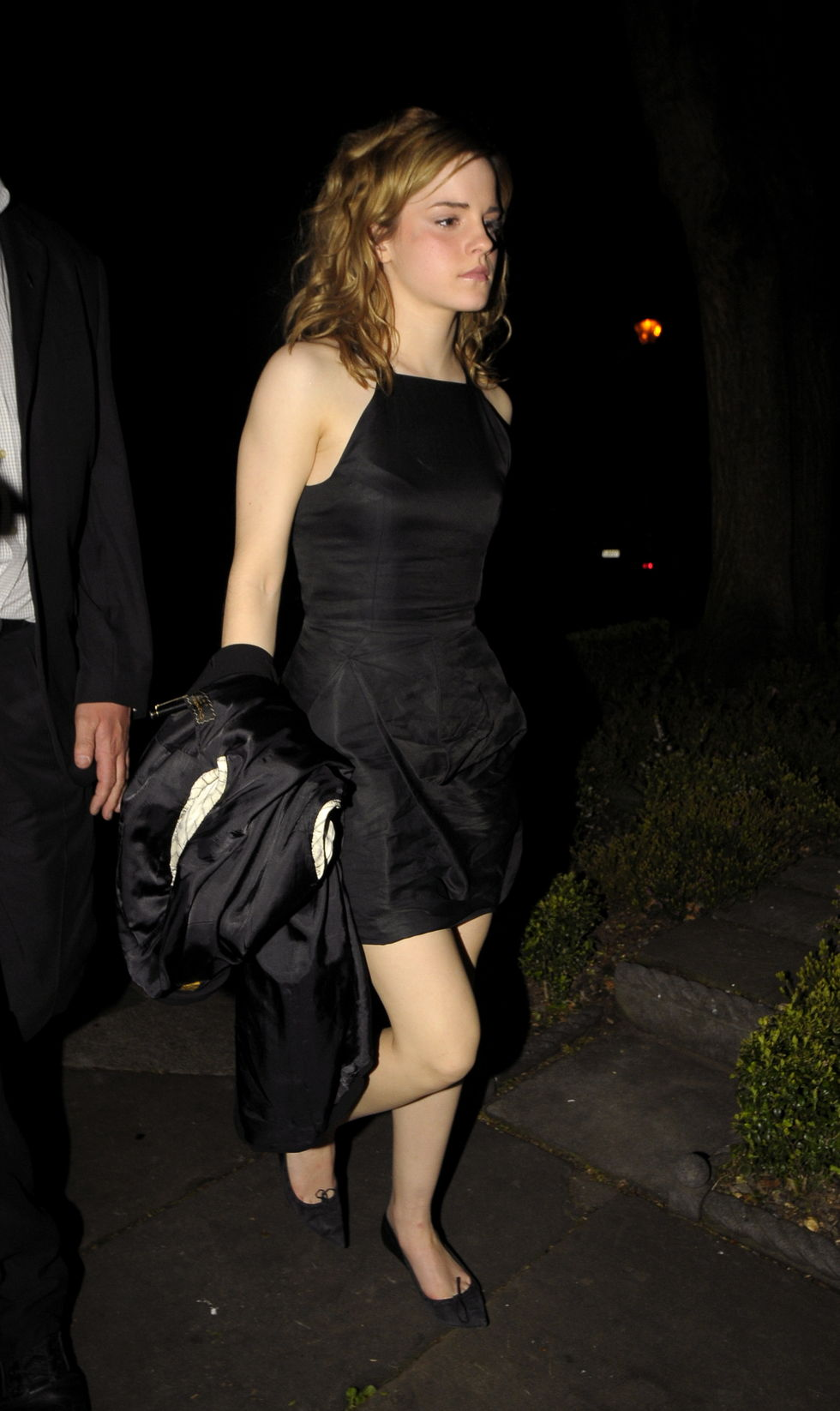 Emma watson 18th birthday upskirt photo