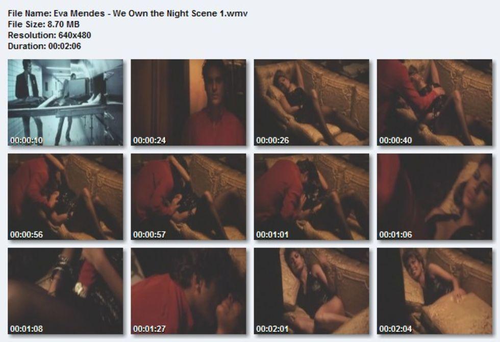 We own the night eva mendes sex scene