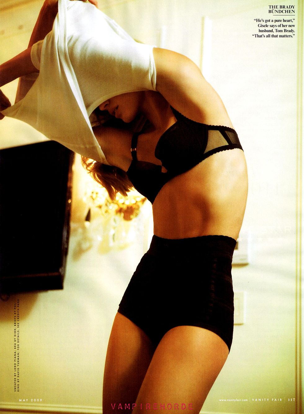 Gisele bundchen vanity fair may 2009 hq scans naked (81 pics)