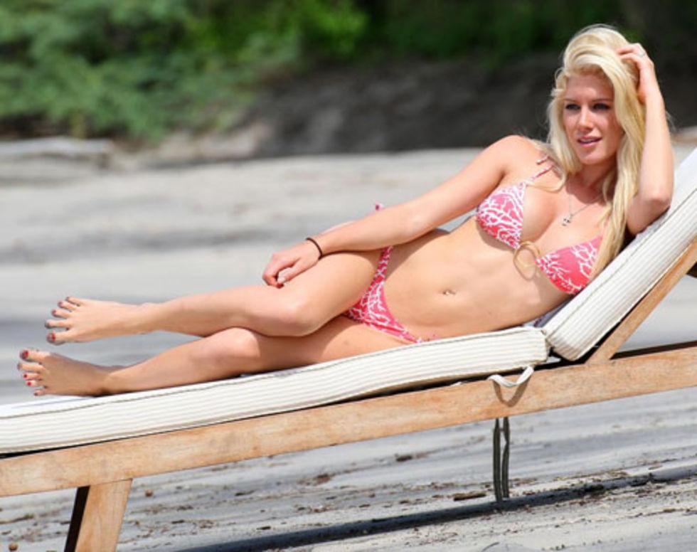 Heidi Montag ? Bikini Candids at the Beach in Costa Rica (MQ)