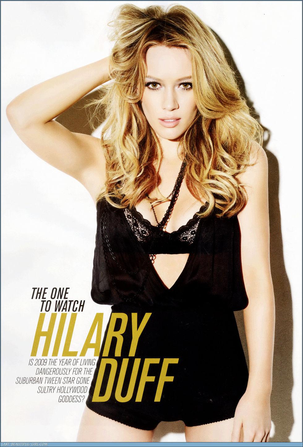 Hilary duff maxim magazine jan 2009 hq scans nude (45 photos), Tits Celebrity pic