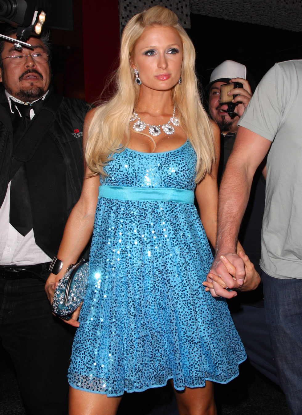 paris-hilton-cleavage-candids-at-east-restaurant-in-hollywood-01