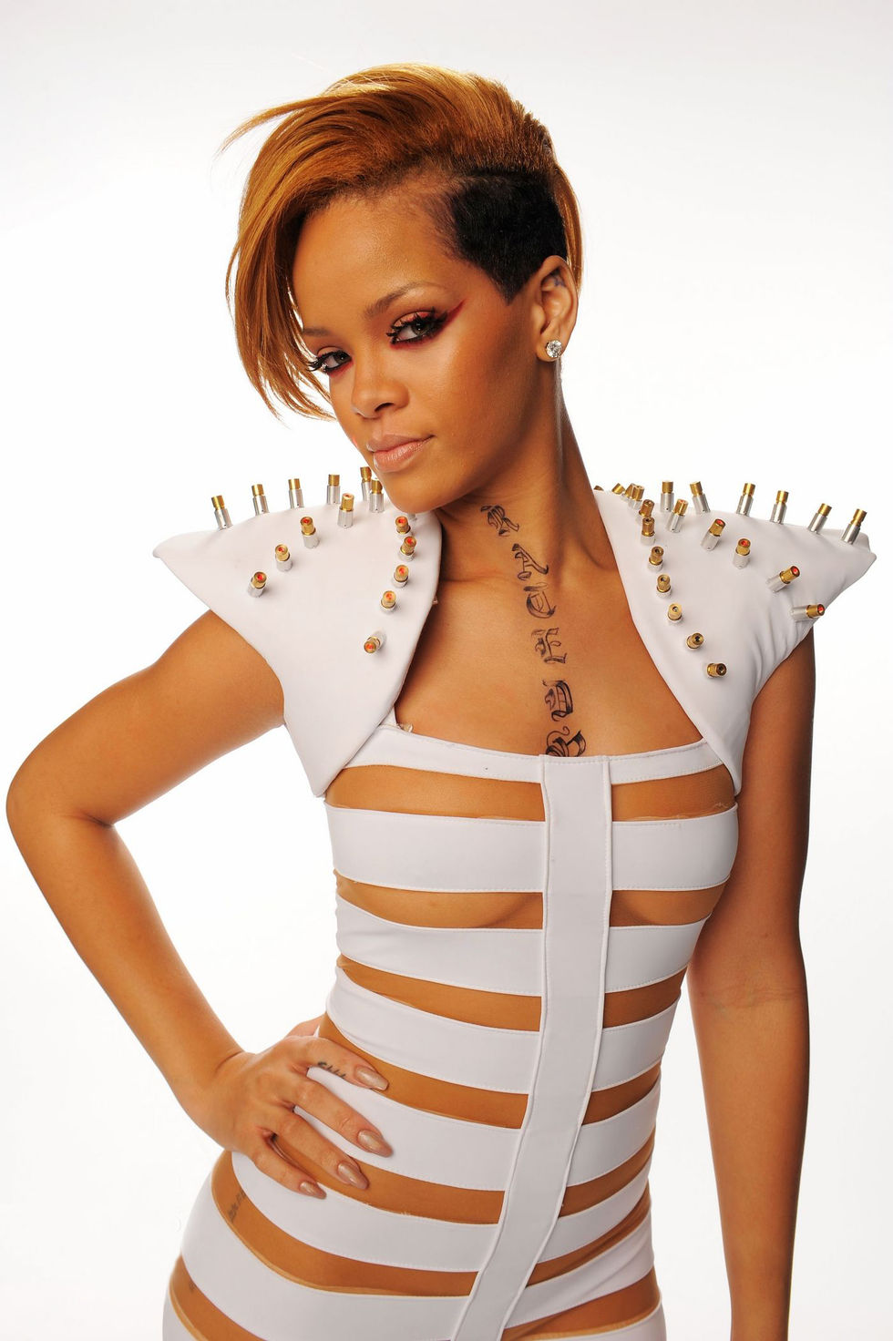 rihanna 2009 american music awards photoshoot gotceleb
